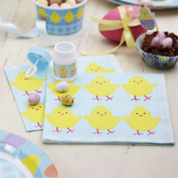 Easter Chick Napkins (20)